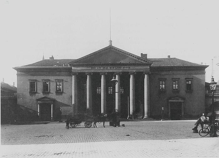 C. F. Hansen: Københavns Råd- og Domhus