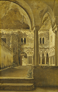 Klostergården i Franciskanerklostret ved Amalfi