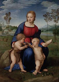 Raffaello Sanzio: Madonna del Cardellino, 1507 (Public Domain)