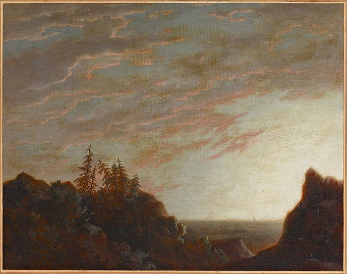 Sunrise over a Rocky Coastland