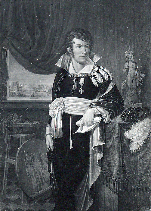 Jacob Munch, Thorvaldsen