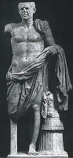 Romersk feltherrestatue, kaldet Tivoli-generalen. 1. årh. f.Kr. Marmor. (Museo Nazionale, Rom)