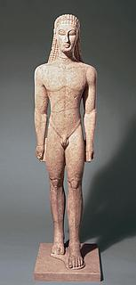 New York Kouros - Public domain