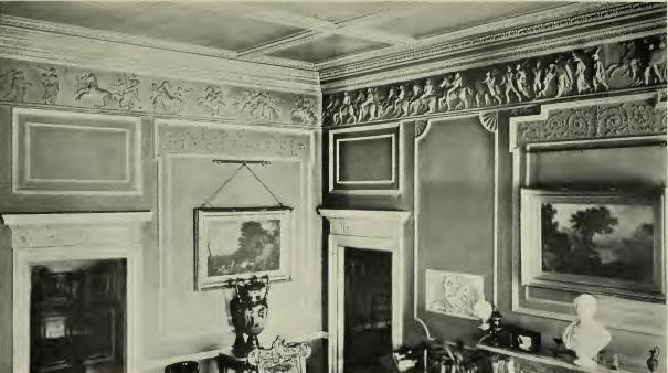 Hams Hall interior of entrance hall