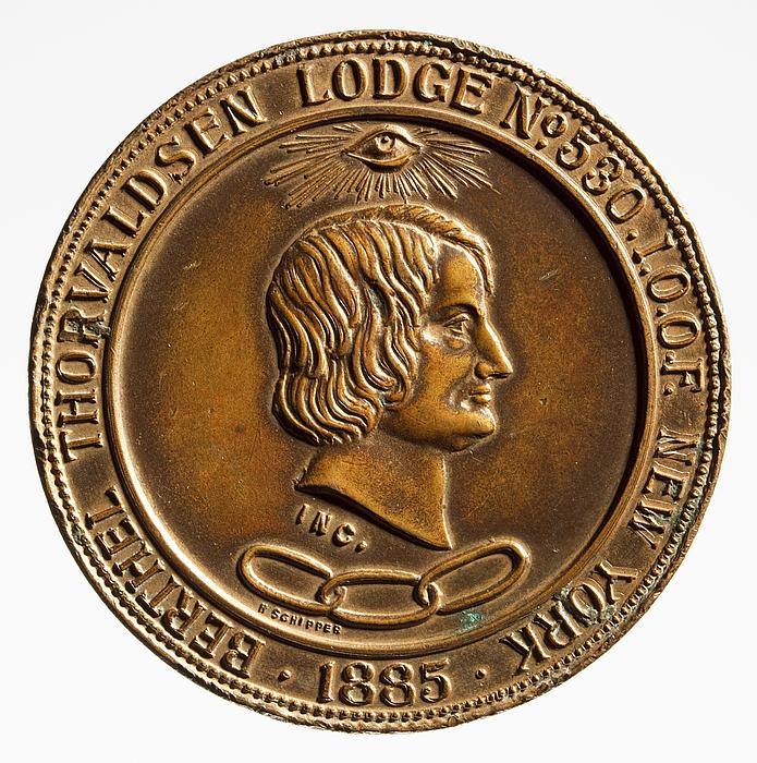 H. Schipper: Berthel Thorvaldsen Lodge No. 530. I.O.O.F. New York 1885, formodentlig 1885