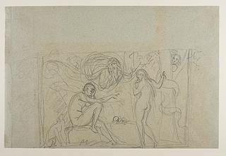 Bertel Thorvaldsen: Syndefaldet, ca. 1840-43, Copyright tilhører Thorvaldsens Museum