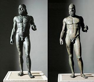 Riace-statuerne - Public domain