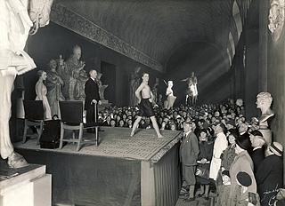 Kaptajn Jespersens gymnastikundervisning 26. april 1933 - Copyright tilhører Thorvaldsens Museum