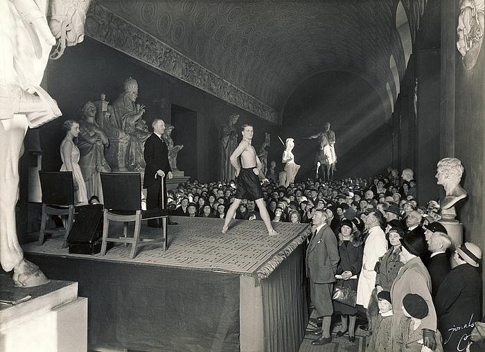 Kaptajn Jespersens gymnastikundervisning 26. april 1933