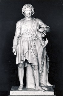 Bertel Thorvaldsen med Håbets gudinde