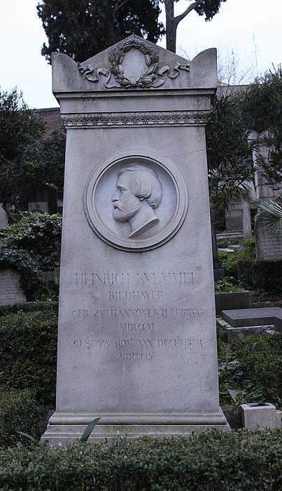 Gravmæle for H.A. Kümmel