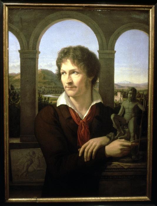 Adolf Senff: Bertel Thorvaldsen, 1817-1818