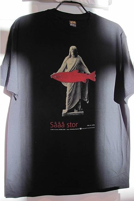 Boerre Larsen på t-shirt