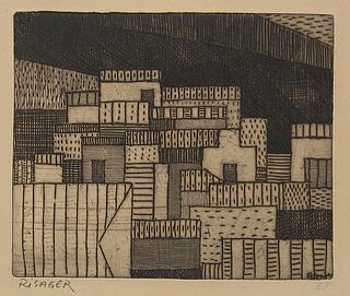 Robert Risager: Taormina, 1951