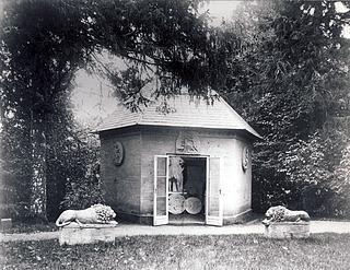 Thorvaldsens værksted på Nysø, 1860'erne eller 1870'erne