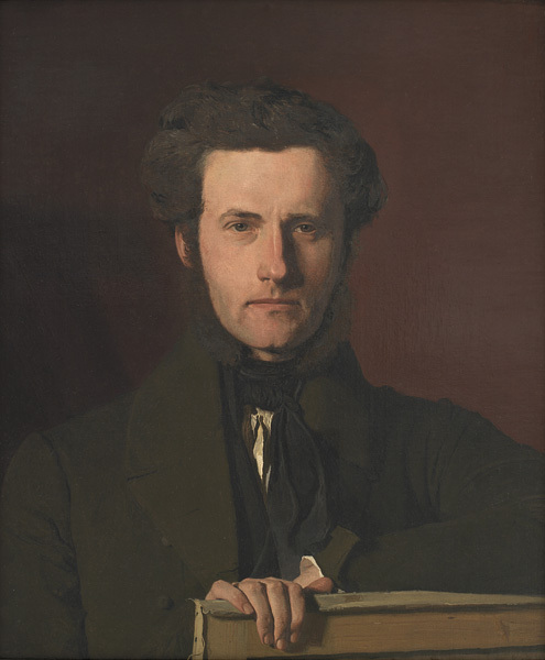 Christen Købke: Georg Christian Hilker, ca. 1837