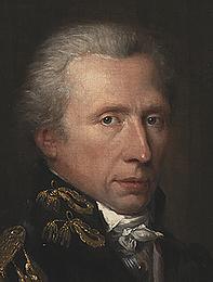 Charles Pièrre Verhulst: Portræt af Hans West, udsnit