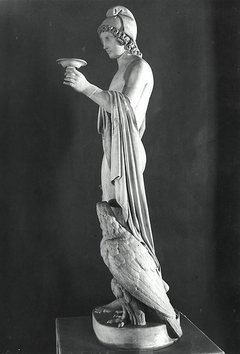 Ganymedes rækker skålen med ørn, Poznań
