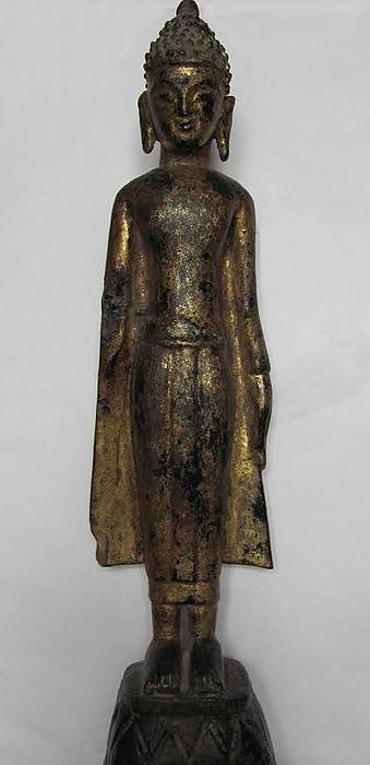 Charlotte Christensens Buddha fra Thailand