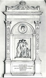 Thorvaldsen: Andrea Appiani, gravmæle