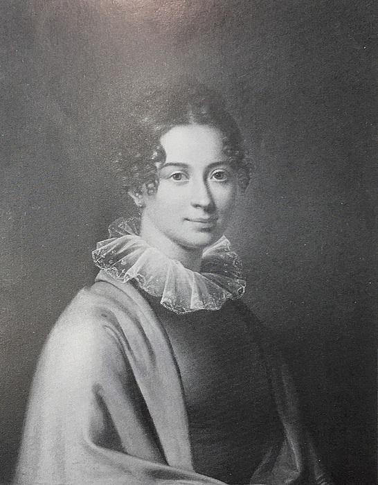 Hans Hansen, Portræt af Bolette Puggaard, udsnit
