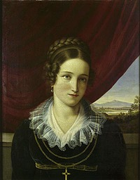Adolf Senff_Elena Buti_1816-18_privateje