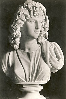 Bertel Thorvaldsen: Melpomene, c. 1805-1810, marble, whereabouts unknown, photo 1927