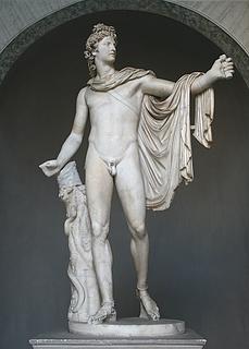 Apollon Belvedere - Public domain