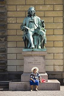 Theobald Stein: Ludvig Holberg, 1872-1873. Foto Ole Haupt
