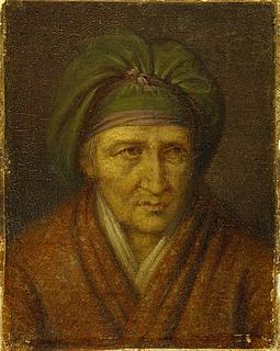 Portræt af Orsola Polverini Narlinghi, Thorvaldsens værtinde i Rom 1800-1804
