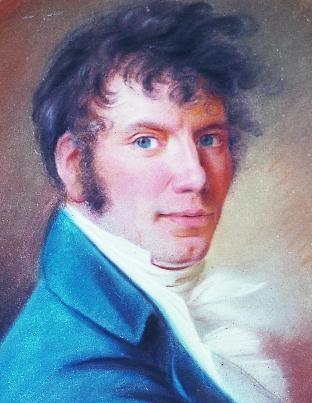 Christian Horneman. Jens Baggesen, ca. 1813-14.