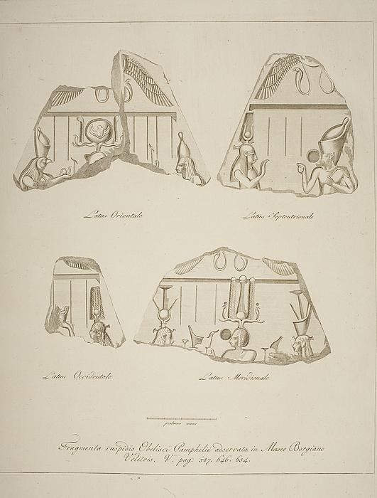 Fragmenter af obelisker