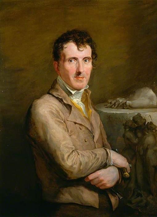 George Hayter: Antonio Canova, 1817.