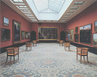 Faaborg Museum. Store malerisal set mod kuppelrummet