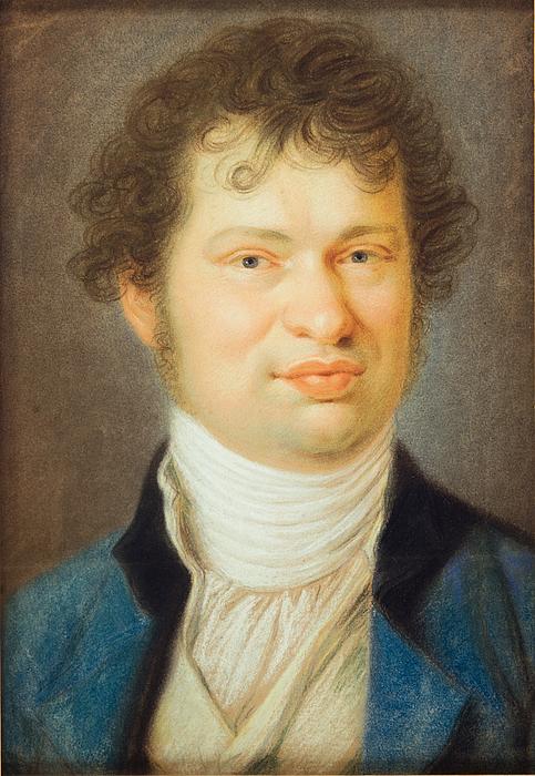 J.M. Wagner: Selvportræt, 1805