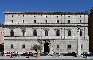 Palazzo Giraud, Rom - Foto hentet på wikimedia commons, fotograf: Joaquim Alves Gaspar, Lisboa, 2015. Foto kan bruges med kreditering.