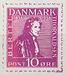 Prøvetryk til frimærke 1938, efter C.W. Eckersberg: Portræt af Bertel Thorvaldsen, 1814, Det Kongelige Akademi for de Skønne Kunster, København. Ikke i Thorvaldsens Museums samling