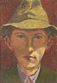 Robert Risager: Selvportræt, 1940
