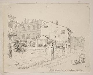 Thorvaldsens værksteder ved Palazzo Barberini