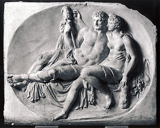 Hercules and Omphale, original plaster, Museum of Modern Art, Aalborg