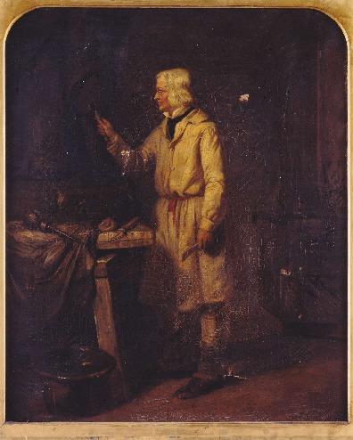 Edward Matthew Ward, Portræt af Thorvalden
