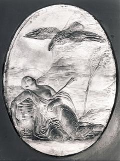 Bertel Thorvaldsen: Chione og Dædalion, 1838 - Copyright tilhører Thorvaldsens Museum
