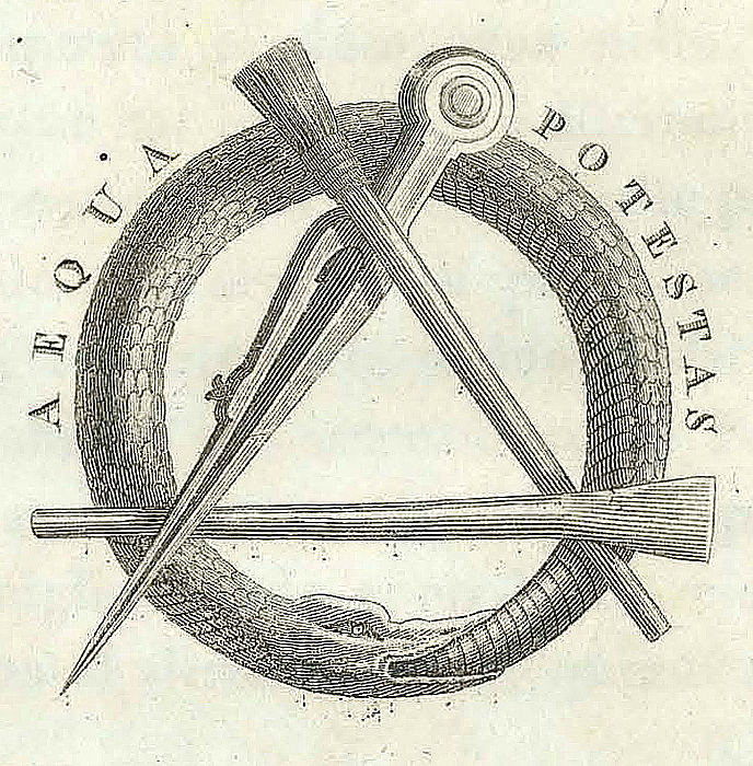 Accademia di S. Luca, bomærke