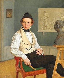 Nicolai Kock: David Jensen, 1842