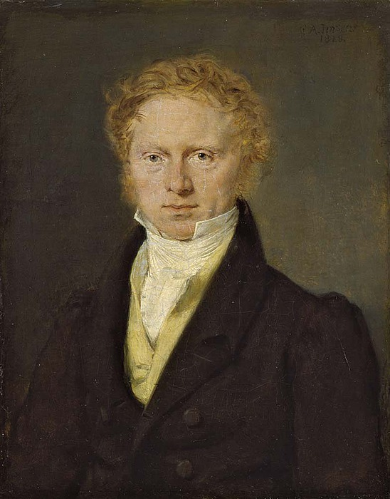 C.A. Jensen, Portræt af Hans Puggaard