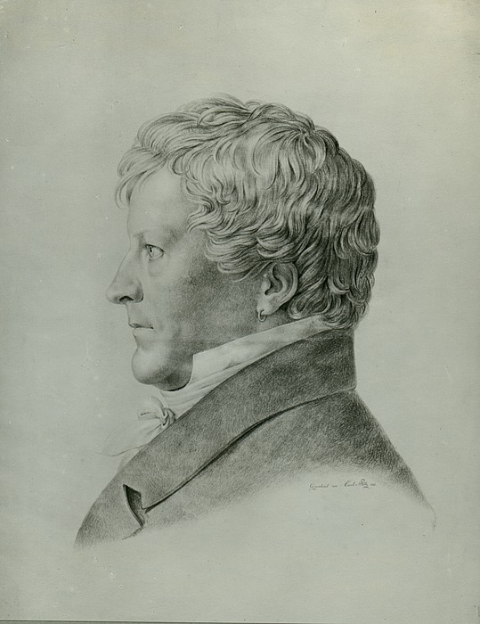 Carl Ludwig von Plötz: Bertel Thorvaldsen, 1821