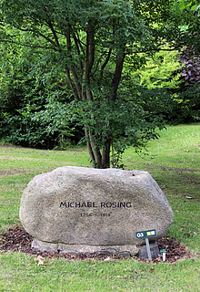 Michael Rosing, grav, Assistens Kirkegård i København