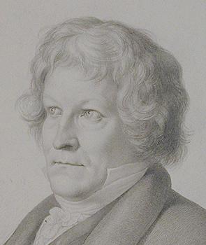 Christian Ernst Stölzel: Thorvaldsen, 1827, detalje