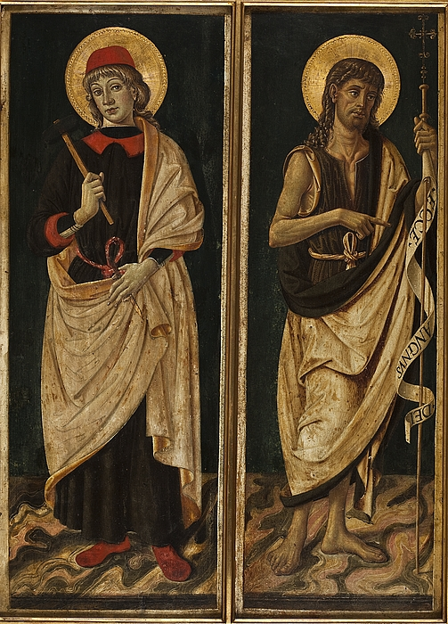 Sankt Eligius og Johannes Døberen