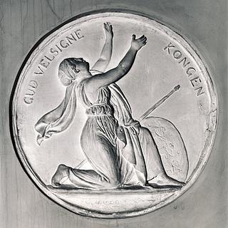 Bertel Thorvaldsen: Danmark, 1840 - Copyright tilhører Thorvaldsens Museum